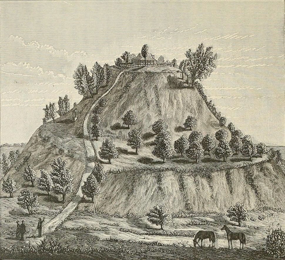 Cahokia monks mound McAdams 1887