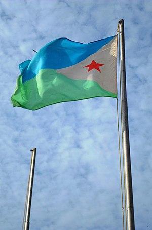 Independence Day (Djibouti) - The flag of Djibouti.