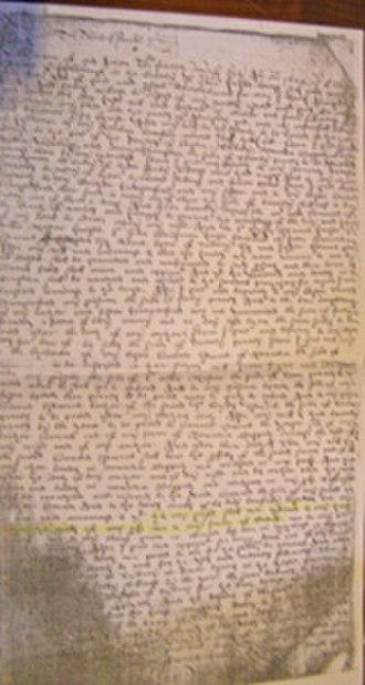 Calcot Manor - Last will and testament of Thomas Estcourt bequeathing Calcot estate, 1624 AD