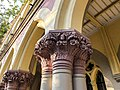 Calcutta High Court - Sculptured on the pillar 05.jpg