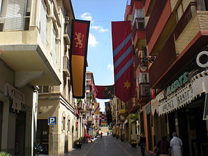 Bajo Aragón-Caspe/Baix Aragó-Casp - Caspe/Casp, main street