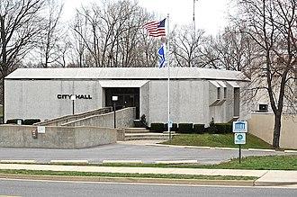 Calvert City, Kentucky - Calvert City's City Hall, located on 5th Avenue