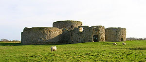 Camber Castle - Image: Camber Castle, seen from the north west