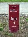 Camiño natural da Ruta do Cantábrico (Km 1) sign.001 - Burela.jpg