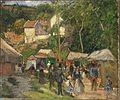 Camille Pissarro - Festival at L'Hermitage.jpg