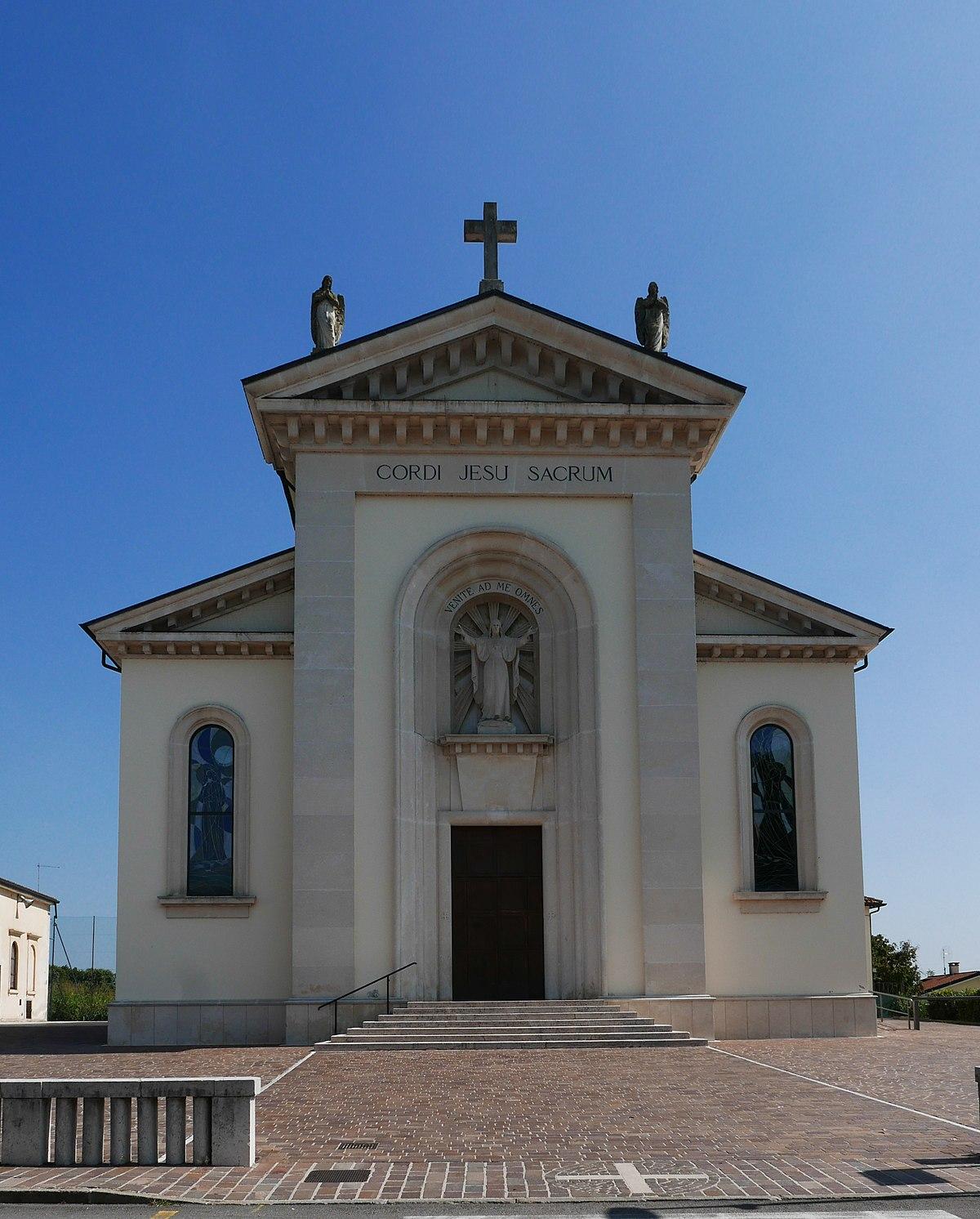 Chiesa del Sacro Cuore di Gesù (Campedello) - Wikipedia
