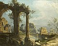 Canaletto (Venice 1697-Venice 1768) - A Capriccio View with Ruins - RCIN 405079 - Royal Collection.jpg