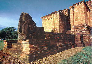 Muaro Jambi Temple Compounds - Candi Gumpung, a Buddhist temple at Muaro Jambi of Malayu Kingdom.