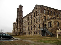 Cannelton's landmark cotton mill