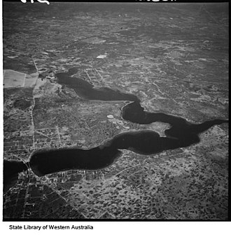 Canning River (Western Australia) - Canning River and Bull Creek ca. 1932
