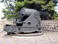 Cannon at the fortress at Barcelona pic3.JPG