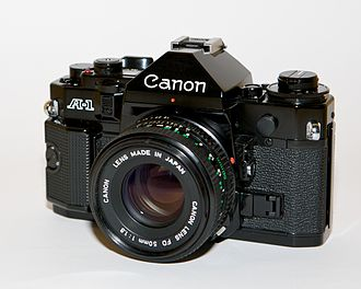 Canon A-1 - Canon A-1 with a FD 50/1.8