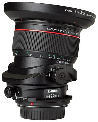 Tilt–shift photography - Canon TS-E 24mm {{f/}}3.5L II