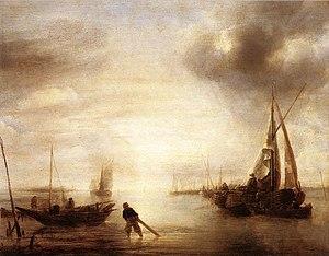 Jan van de Cappelle - A Calm, 1650–1655