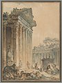 Capriccio with an Ancient Temple MET DP222151.jpg