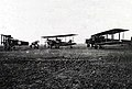 Captured German bomber aircraft at Cologne 1918.jpg