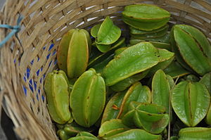 Carambola - Unripe Indian Carambola