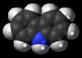 Carbazole molecule spacefill.png