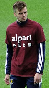 Carl Jenkinson as a West Ham United player September 2014.jpg