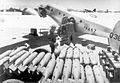 Carlsbad Army Airfield - Loading Concrete Practice Bombs on AT-11.jpg