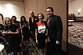 Carly Fiorina & Mark Brnovich with supporters (21156143989).jpg