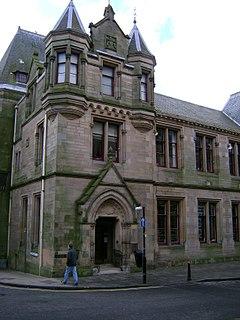 Dunfermline Carnegie Library public library in Fife, Scotland