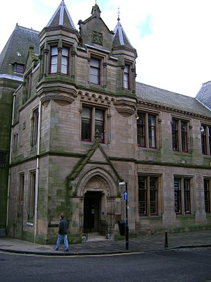 Dunfermline Carnegie Library - Dunfermline Carnegie Library