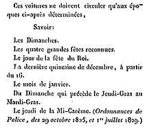 Carrosses supplémentaires - Le guide des sergens de ville et autres préposés de l'administration de police - Barlet - Paris 1831 - page 65.jpg