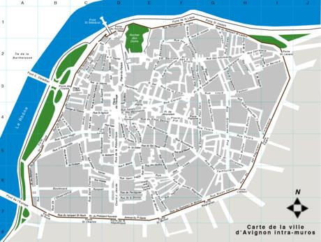 Places d 39 avignon wikip dia - Porte saint dominique avignon ...