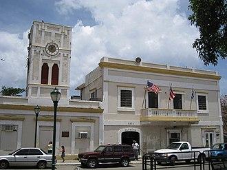 Vieques, Puerto Rico - Casa Alcaldía (City Hall), Isabel Segunda