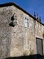 Casa con reloxo de sol en Farán, Arnego, Rodeiro.JPG