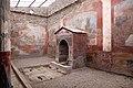Casa della fontana piccola, cortile con affreschi e fontana mosaicata 02.jpg