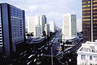 Economy of Casablanca - Boulevard des FAR (Forces Armées Royales)