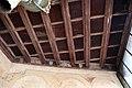 Castiglione olona, palazzo branda, interno, loggetta alla fiorentina, soffitto con stemmi e motti, 1420-50 ca. 02.jpg