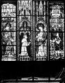 Cathédrale Notre-Dame - Vitrail du choeur, fenêtre haute - Vierge à l'Enfant. Charles le Mauvais - Evreux - Médiathèque de l'architecture et du patrimoine - APMH00015135.jpg