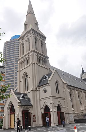 Christianity in New Zealand - St. Patrick's (Catholic) Cathedral in Auckland
