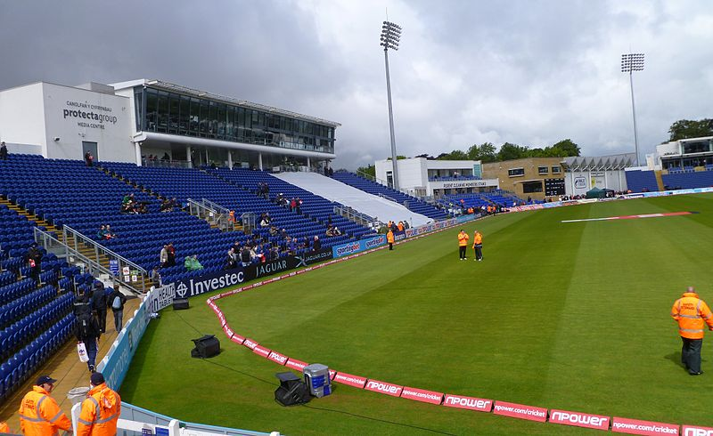 Cathedral Road end, SWALEC Stadium, Cardiff, Wales.jpg