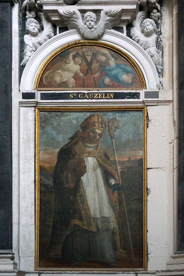 Bilde i katedralen Saint-Étienne i Toul