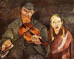 1922 in art - Image: Cawen Alvar Sokea Soittoniekka 1922