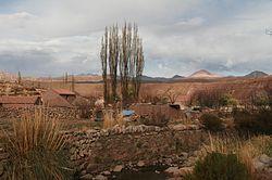 the village of Cayara in the municipality of Yocalla