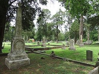 Cedar Hill Cemetery (Suffolk, Virginia) - Cedar Hill Cemetery in 2016