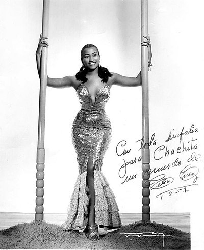 Picture of a band or musician: Celia Cruz