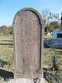 Cemetery, Mária Kis tomb, listed, 2019 Etyek.jpg