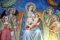Cenni di Francesco di ser Cenni, Vergine che allatta il Bambino circondata dalle Virtù cardinali e teologali 04.jpg