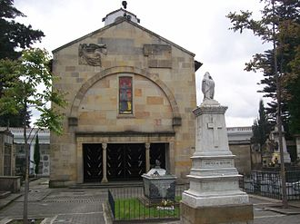 Central Cemetery of Bogotá - Cenotaph of Gonzalo Jiménez de Quesada at Central Cemetery.