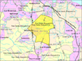 Census Bureau map of Marlboro Township, New Jersey.png