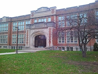 London Central Secondary School - Image: Central Secondary, London