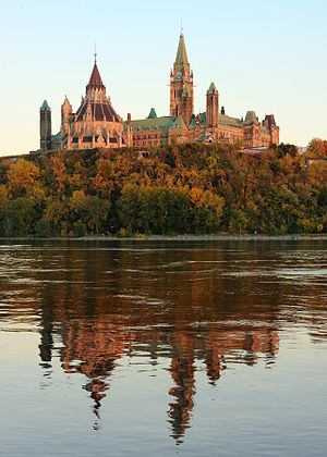 Canadian Register of Historic Places - Image: Centre Block and Library of Parliament