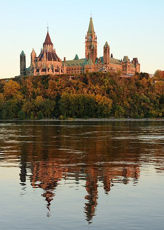 Canadian Register of Historic Places - The Centre Block on Parliament Hill is listed in the CRHP both as part of a National Historic Site of Canada and as a Federal Heritage Building