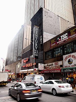 Century 21 (department store) - Century 21 Sign